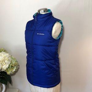 Columbia Girls Insulated Reversible Vest